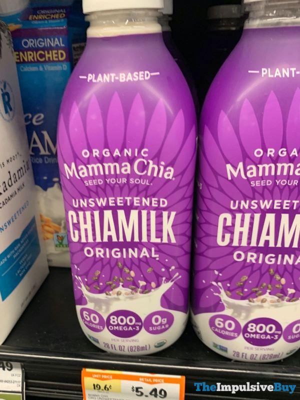 Mamma Chia Organic Original Unsweetened Chiamilk