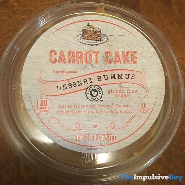 Park Street Deli Carrot Cake Dessert Hummus