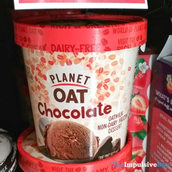 Planet Oat Chocolate Oatmilk Non Dairy Frozen Dessert