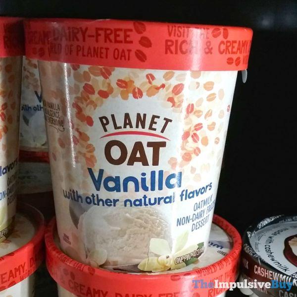 Planet Oat Vanilla Oatmilk Non Dairy Frozen Dessert