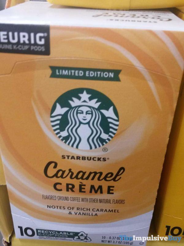 Starbucks Limited Edition Caramel Creme K Cups