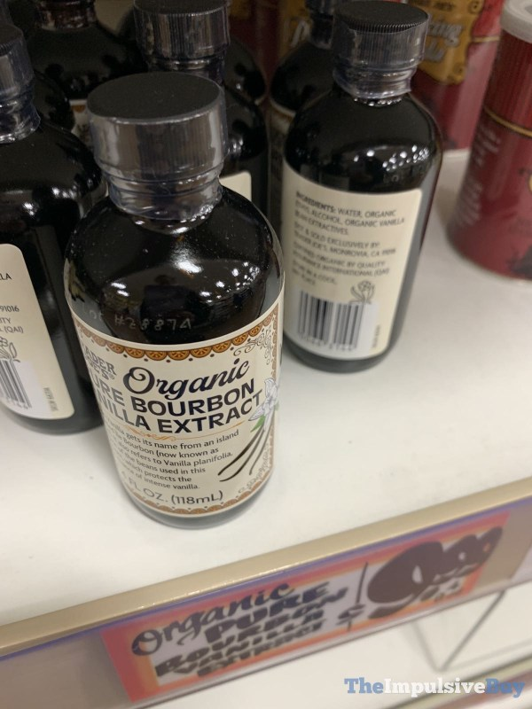 Trader Joe s Pure Bourbon Vanilla Extract