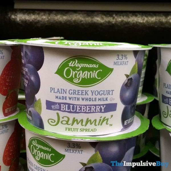 Wegmans Organic Plain Greek Yogurt with Blueberry Jammin Fruit Spread