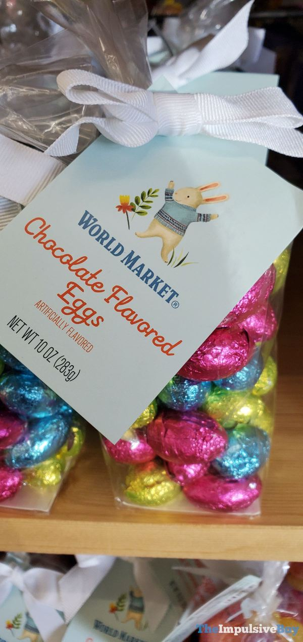 World Market Chocolate Flavored Eggs