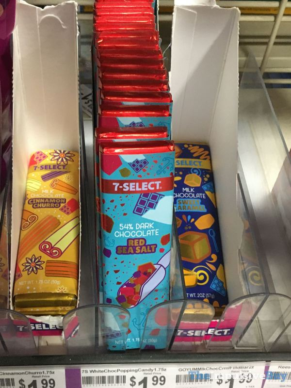 7 Select Chocolate Bars  Red Sea Salt and Sweet Caramel