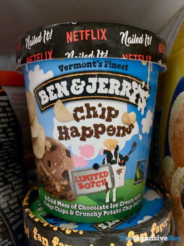 Ben  Jerry s Limited Botch Chip Happens Ice Cream