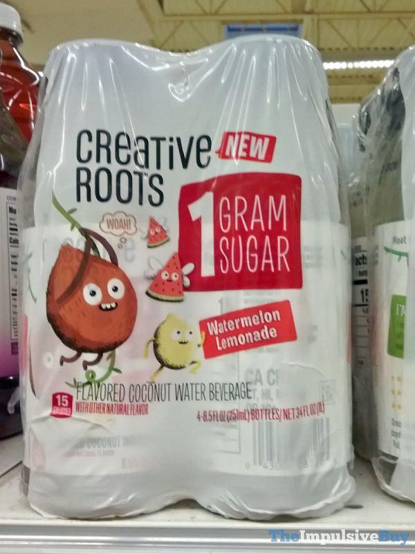Creative Roots Watermelon Lemonade Coconut Water Beverage