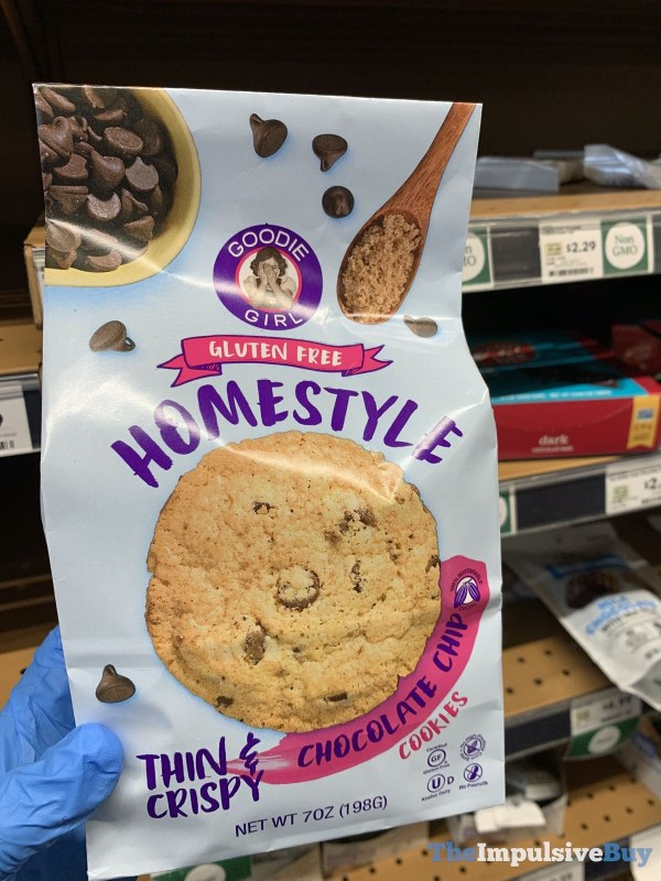 Goodie Girl Gluten Free Homestyle Chocolate Chip Cookies