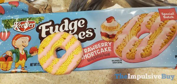 Keebler Special Batch Strawberry Shortcake Fudge Stripes