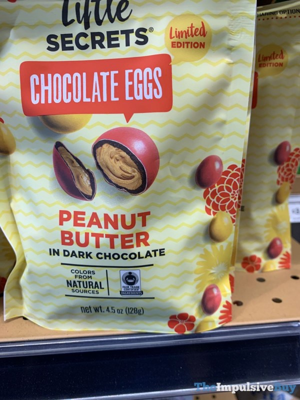 Little Secrets Limited Edition Peanut Butter in Dark Chocolate Eggs