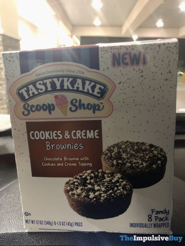 Tastykake Scoop Shop Cookies  Creme Brownies