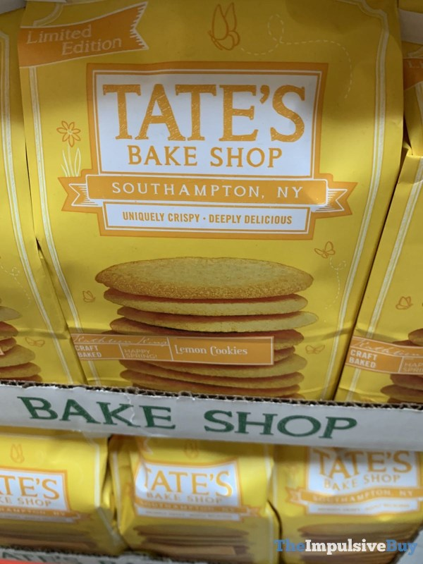 Tate s Bake Shop Limited Edition Lemon Cookies