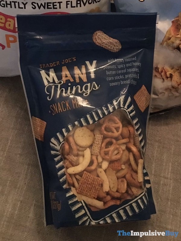 Trader Joe s Many Things Snack Mix