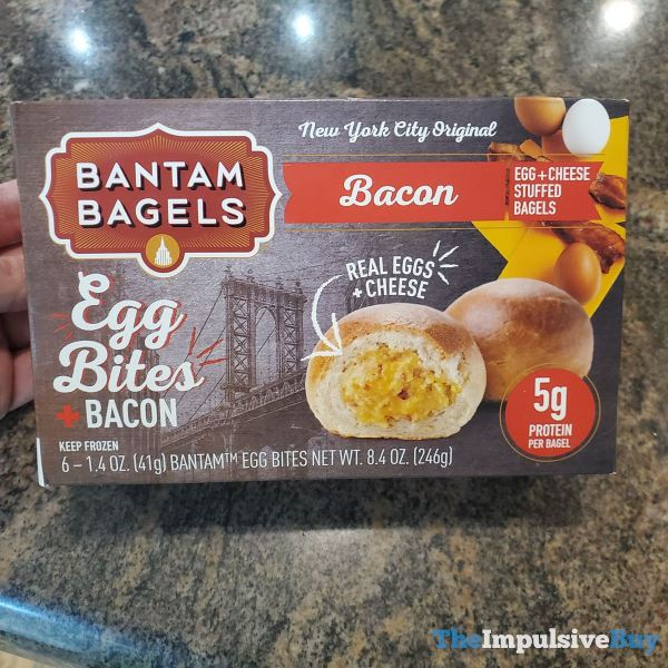 Bantam Bagels Egg Bites + Bacon
