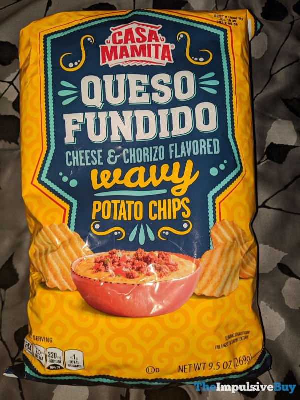 Casa Mamita Queso Fundido Wavy Potato Chips
