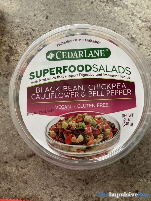 Cedar Lane Superfood Salads Black Bean Chickpea Cauliflower  Bell Pepper