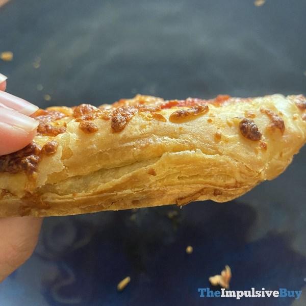 DiGiorno Croissant Crust Pizza Crust Closeup