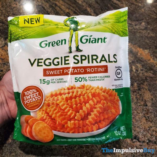 Green Giant Sweet Potato  Rotini Veggie Spirals