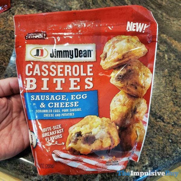 Jimmy Dean Casserole Bites Sausage Egg  Cheese