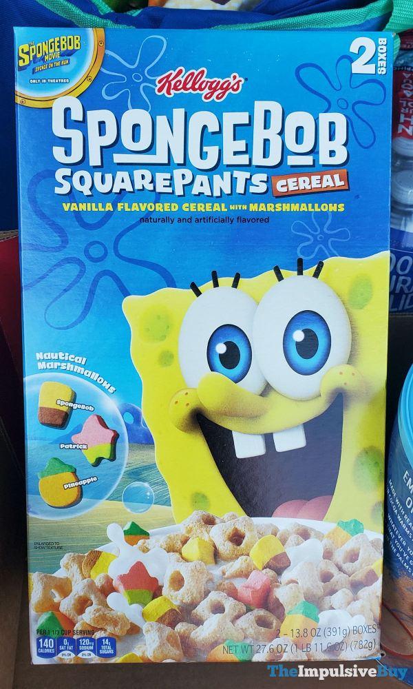 Kellogg s Spongebob Squarepants Cereal  2020
