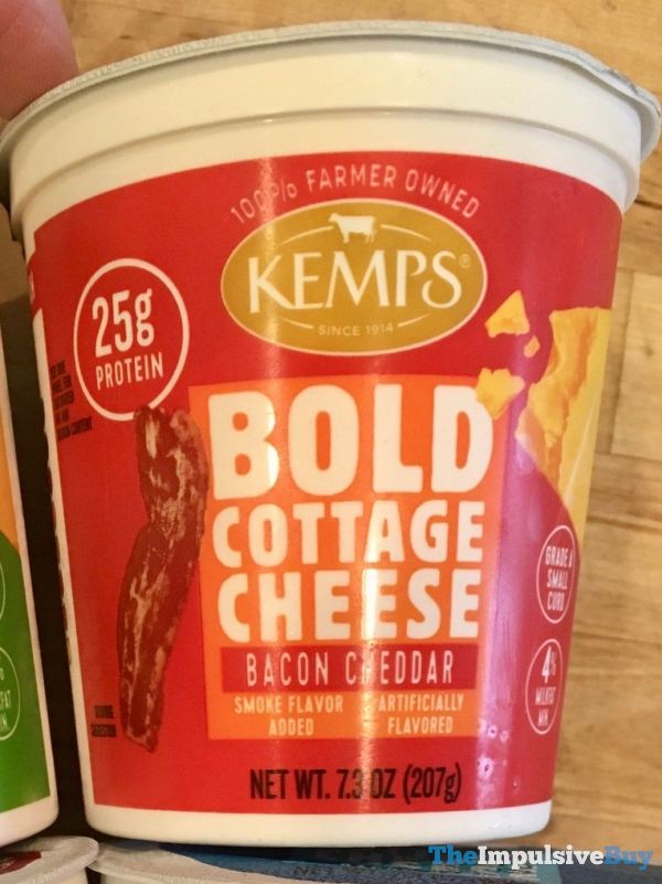 Kemps Bold Cottage Cheese Bacon Cheddar