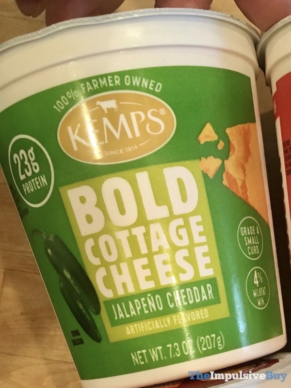 Kemps Bold Cottage Cheese Jalapeno Cheddar