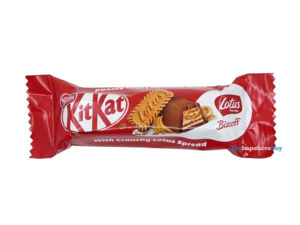 Lotus Biscoff KitKat Minis