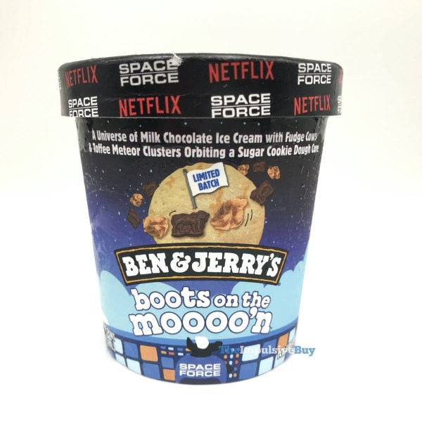 Ben  Jerry s Limited Batch Boots on the Moooo n Ice Cream