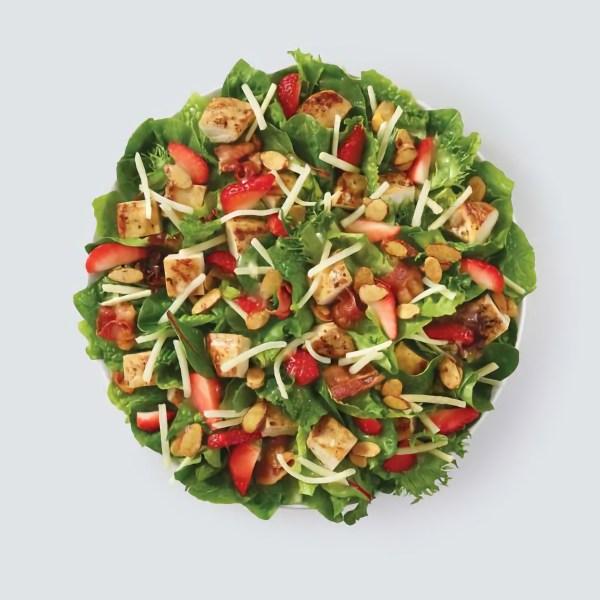 News Wendys Summer Strawberry Salad