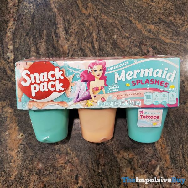 Snack Pack Mermaid Splashes Pudding