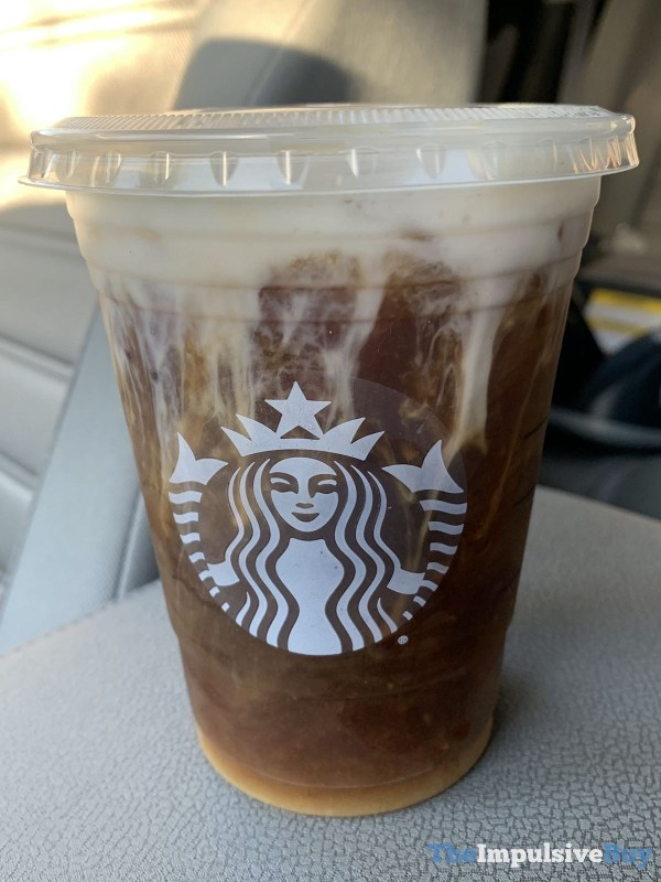 Starbucks Cold Brew with Cinnamon Almondmilk Foam