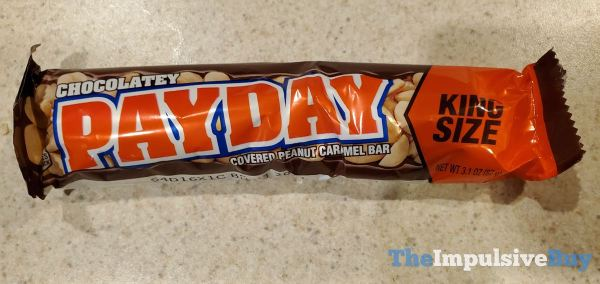 Chocolatey Payday Bar