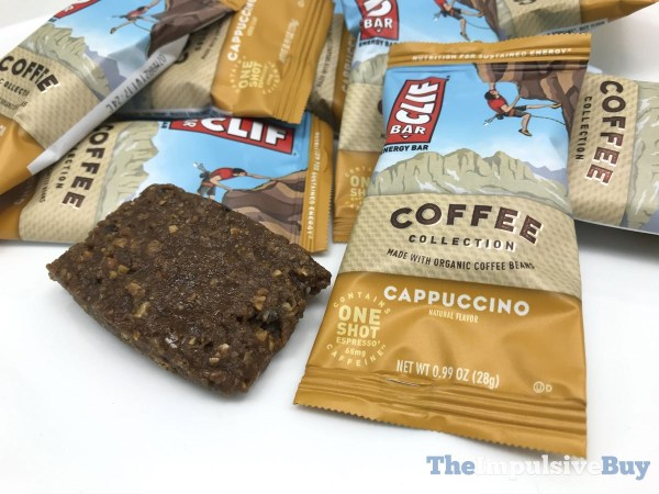 Clif Bar Coffee Collection Minis Cappuccino