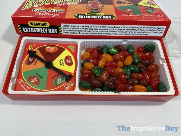 Jelly Belly Bean Boozled Fiery Five Challenge Game
