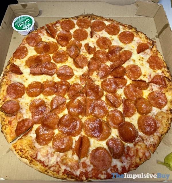 Papa John s Shaq a Roni Pizza