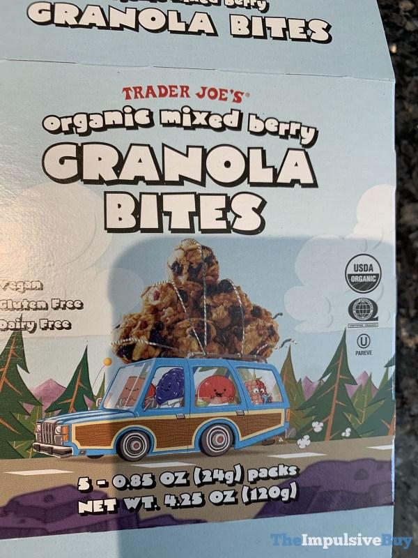 Trader Joe s Organic Mixed Berry Granola Bites