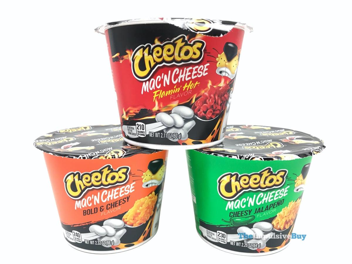 review cheetos mac n cheese cups