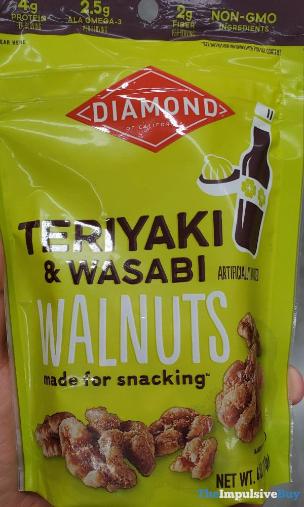 Diamond Teriyaki  Wasabi Walnuts