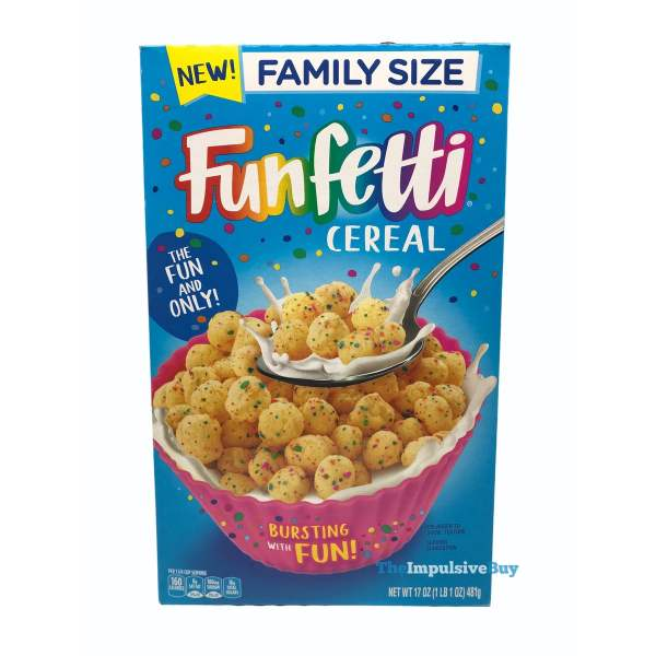 Funfetti Cereal Box