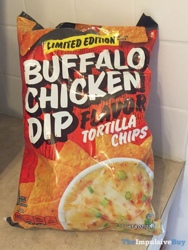 Giant Eagle Limited Edition Buffalo Chicken Dip Flavor Tortilla Chips