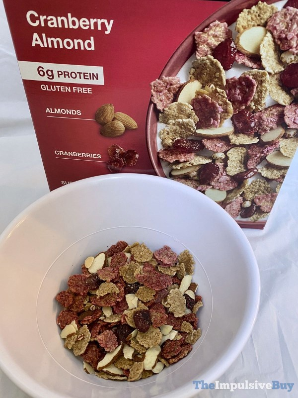 KIND Cranberry Almond Cereal