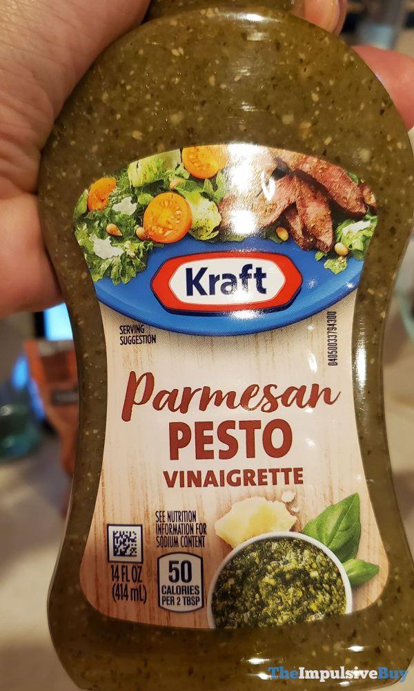 Kraft Parmesan Pesto Vinaigrette