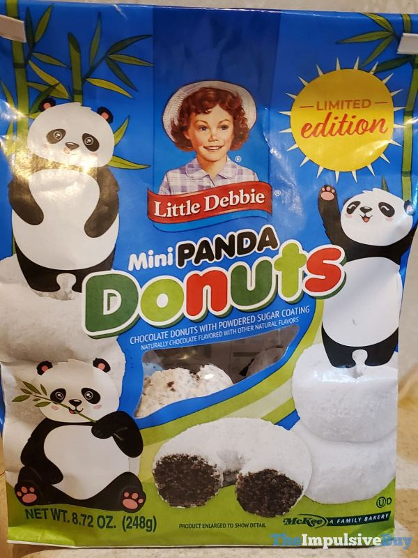 Little Debbie Limited Edition Mini Panda Donuts