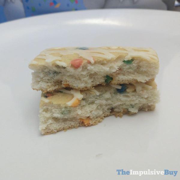 Pillsbury Birthday Cake Bars Split