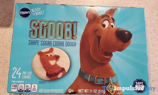 Pillsbury Scoob Shape Sugar Cookie Dough