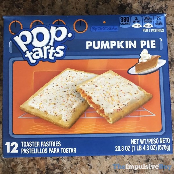Pumpkin Pie Pop Tarts 2020 Design