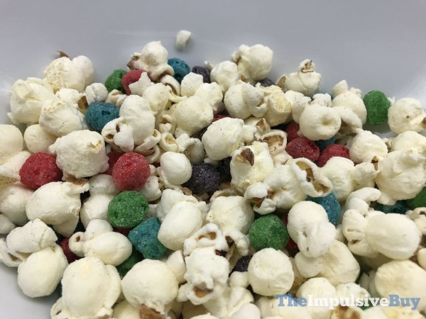 Smartfood Cap n Crunch s Crunch Berries Popcorn Mix Bag Closeup