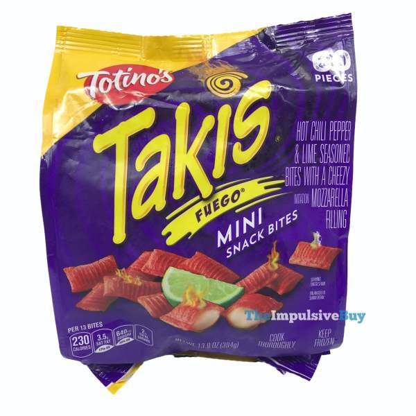 Totino s Takis Fuego Mini Snack Bites Bag
