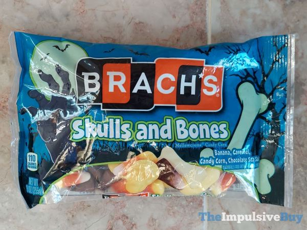 Brach s Skulls and Bones Mellowcreme Candy Corn