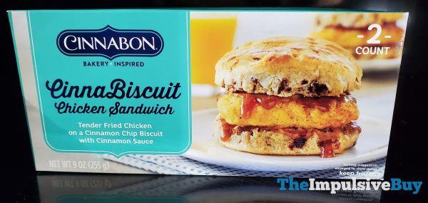 Cinnabon CinnaBiscuit Chicken Sandwich